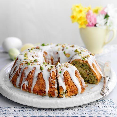 """<p>This delicious courgette cake recipe will take just over an hour to make.</p><p><strong>Recipe: <a href=""""https://www.goodhousekeeping.com/uk/food/recipes/a535359/courgette-cake/"""" rel=""""nofollow noopener"""" target=""""_blank"""" data-ylk=""""slk:Courgette bundt cake"""" class=""""link rapid-noclick-resp"""">Courgette bundt cake</a></strong></p>"""