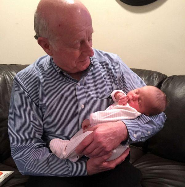 PHOTO: Donald Adair holds one of his five grandchildren in this undated family photo. (Courtesy Abby Reinhard)