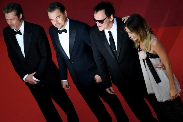 """Quentin Tarantino's """"Once Upon a Time... in Hollywood"""" starring Brad Pitt, Leonardo DiCaprio and Margot Robbie won rapturous reviews from critics"""