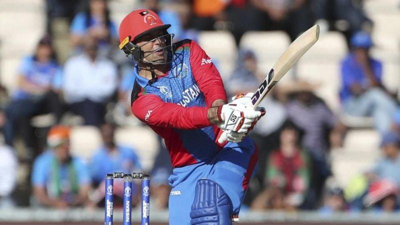 Mohammad Nabi almost won the game against India