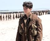 """<p><a rel=""""nofollow"""" href=""""https://www.yahoo.com/movies/tagged/christopher-nolan"""" data-ylk=""""slk:Christopher Nolan"""" class=""""link rapid-noclick-resp"""">Christopher Nolan</a> commands an army of stars — including <a rel=""""nofollow"""" href=""""https://www.yahoo.com/movies/tagged/tom-hardy"""" data-ylk=""""slk:Tom Hardy"""" class=""""link rapid-noclick-resp"""">Tom Hardy</a>, <a rel=""""nofollow"""" href=""""https://www.yahoo.com/movies/tagged/mark-rylance"""" data-ylk=""""slk:Mark Rylance"""" class=""""link rapid-noclick-resp"""">Mark Rylance</a>, and One Direction alum <a rel=""""nofollow"""" href=""""https://www.yahoo.com/movies/tagged/harry-styles"""" data-ylk=""""slk:Harry Styles"""" class=""""link rapid-noclick-resp"""">Harry Styles</a> — in his first stab at a sweeping war epic, which depicts the Battle of Dunkirk from three different angles: land, sea, and air. We're enlisting, sight unseen. 