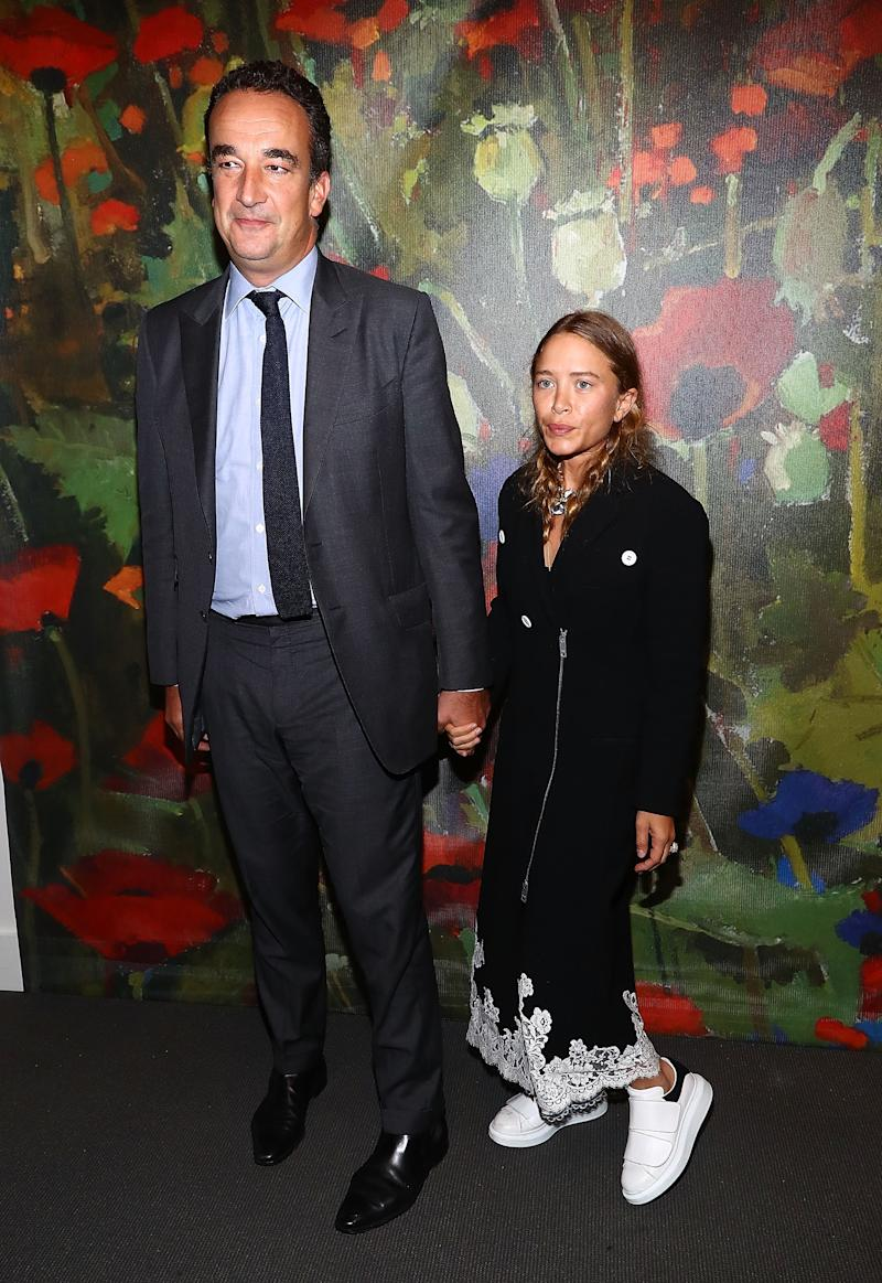 Mary Kate Olsen and husband