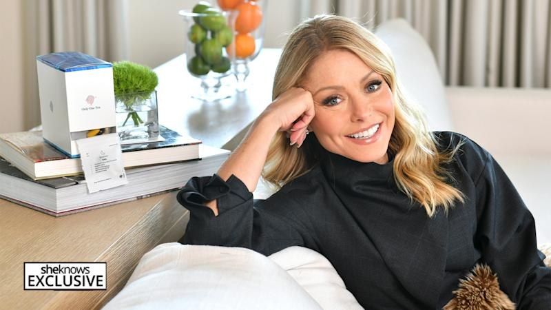 Kelly Ripa talks about her decision to stop drinking alcohol