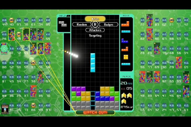 Tetris 99 Big Block DLC adds offline mode against 98 bots