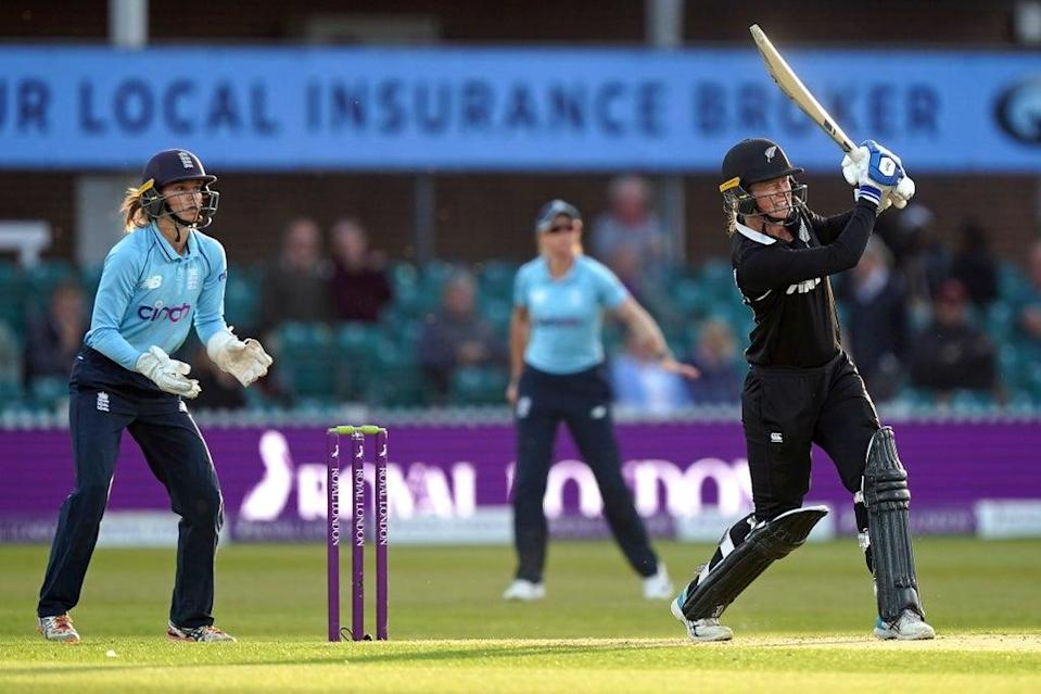 Maddy Green (right) led the way for New Zealand (Mike Egerton/PA) (PA Wire)