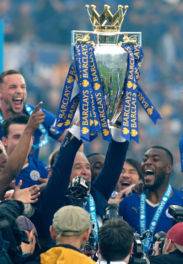 Leicester's 5.14 billion pound television deal is due to kick in next season (AFP Photo/Adrian Dennis)
