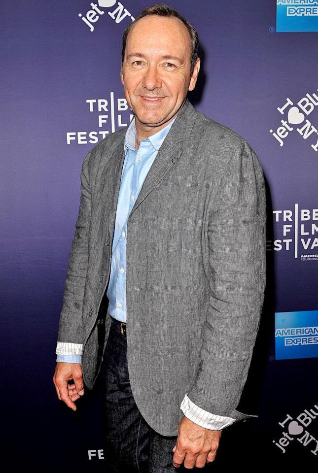 Kevin Spacey turns 53 on July 26.