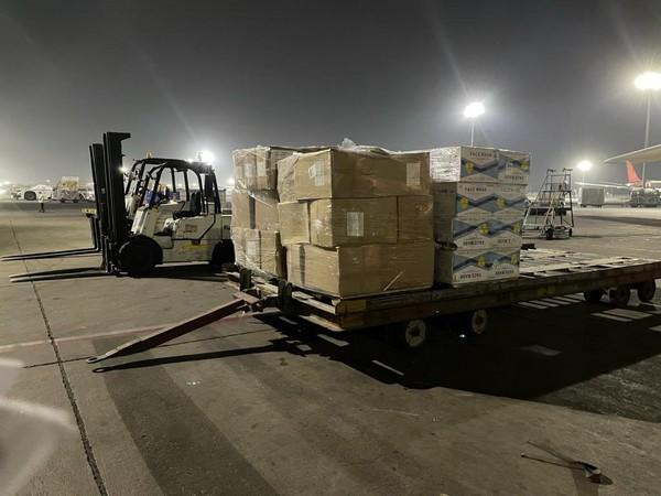 Delhi Customs facilitated clearance of COVID-19 aid from UAE on Friday (Credit: Delhi Customs/Twitter)