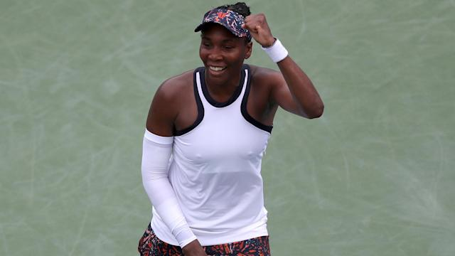 Venus Williams upset Kiki Bertens as five seeds fell at the Western & Southern Open.