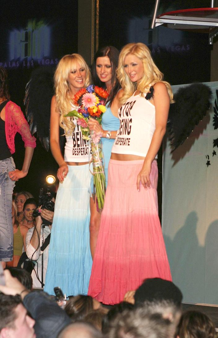 Paris With Nicky Hilton and Kimberly Stewart at the Fashion Show