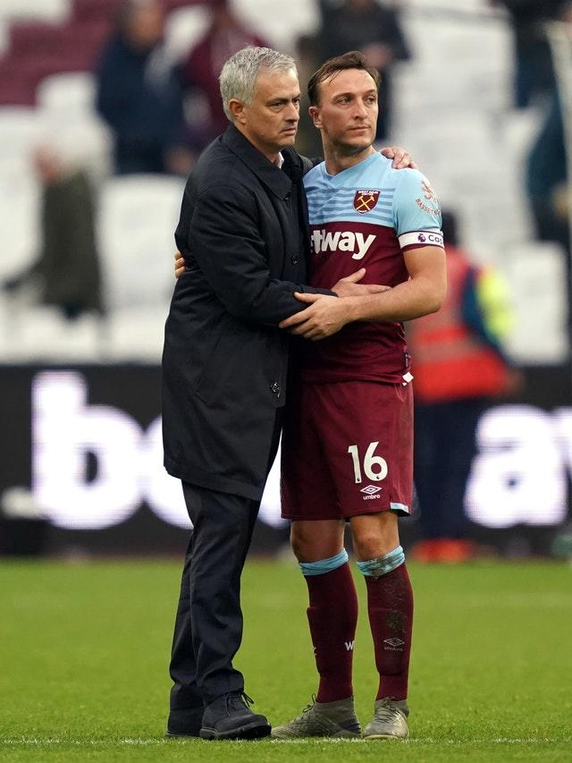 Mark Noble has urged West Ham to up their game (John Walton/PA)