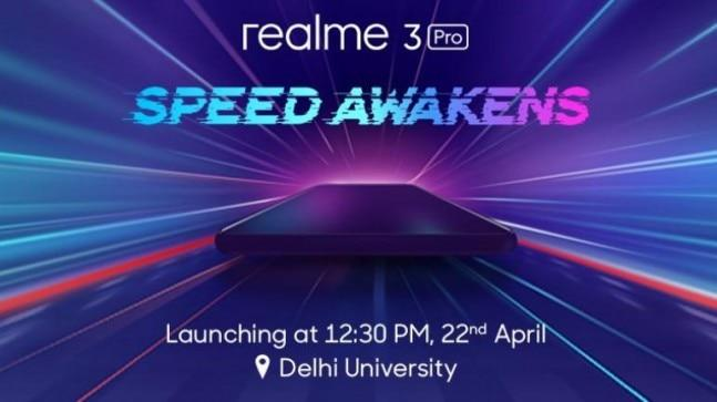 Realme has announced a blind pre-order for the Realme 3 Pro starting April 19, allowing customers to register for the device and win R-pass before it goes official on April 22.