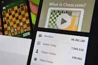 "Chess.com has seen a surge of new members following the global success of ""The Queen's Gambit"""