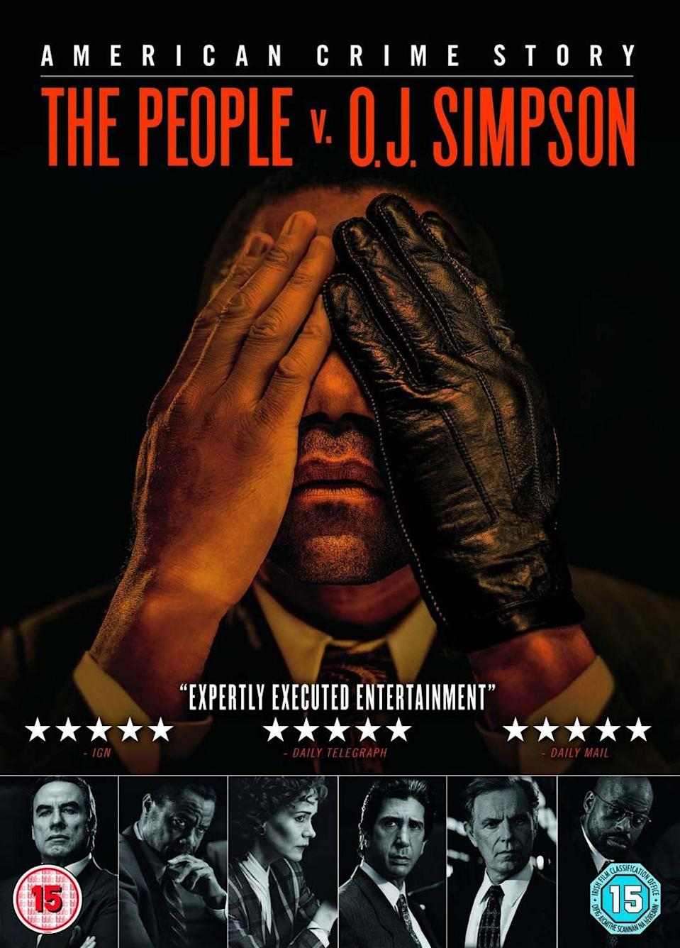 """<p><strong>Air date: </strong>2016 on FX</p><p>Murphy isn't technically the creator of <em>American Crime Story, </em>but he does serve as a producer and occasional director, and his fingerprints are all over the series, which gets under the hood of well-known events like O.J. Simpson's 1995 murder trial. </p><p>This first season, which featured Cuba Gooding, Jr. as Simpson and supporting turns from Sarah Paulson, Sterling K. Brown, and Courtney B. Vance, received rave reviews and won five Primetime Emmys.</p><p>Murphy directed four episodes and serves as exec producer.</p><p><a class=""""link rapid-noclick-resp"""" href=""""https://www.netflix.com/title/80083977"""" rel=""""nofollow noopener"""" target=""""_blank"""" data-ylk=""""slk:WATCH NOW"""">WATCH NOW</a></p>"""