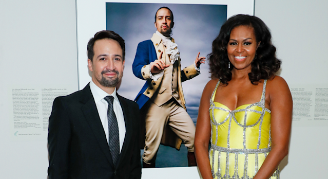 Michelle Obama regularly wears yellow and we can see why. [Photo: AP]