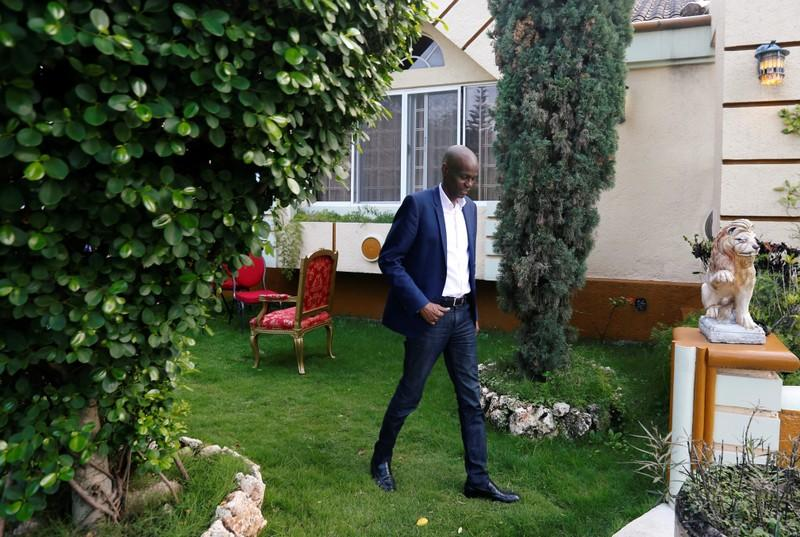 Haiti's President Jovenel Moise speaks with Reuters, in Port-au-Prince