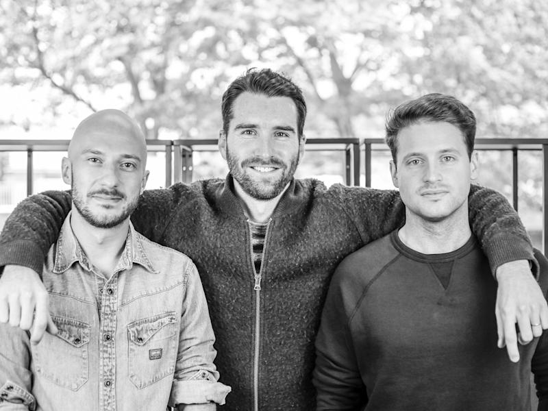 Thread Founders Ben Phillips (CTO), Kieran O'Neill (CEO), Ben Kucsan (Creative Director) 3 copy