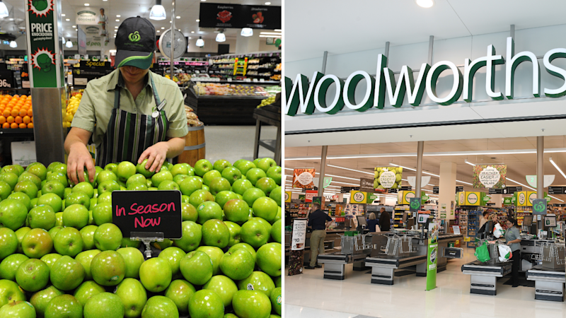 Woolworths has come under fire. Images: AAP