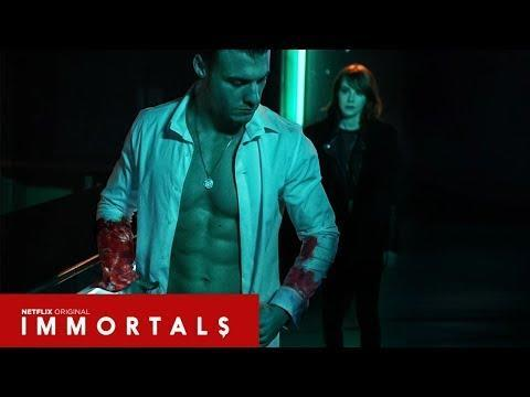 """<p>In his search for a relic that grants immortality, vampire Dmitri is pursued by human turned vampire Mia who has to stop him before he finds what he's after. </p><p><strong>Where to Watch:</strong> <a href=""""https://www.netflix.com/title/81026095"""" rel=""""nofollow noopener"""" target=""""_blank"""" data-ylk=""""slk:Netflix"""" class=""""link rapid-noclick-resp"""">Netflix</a><br></p><p><a href=""""https://www.youtube.com/watch?v=OGqj3pZEtkE"""" rel=""""nofollow noopener"""" target=""""_blank"""" data-ylk=""""slk:See the original post on Youtube"""" class=""""link rapid-noclick-resp"""">See the original post on Youtube</a></p>"""
