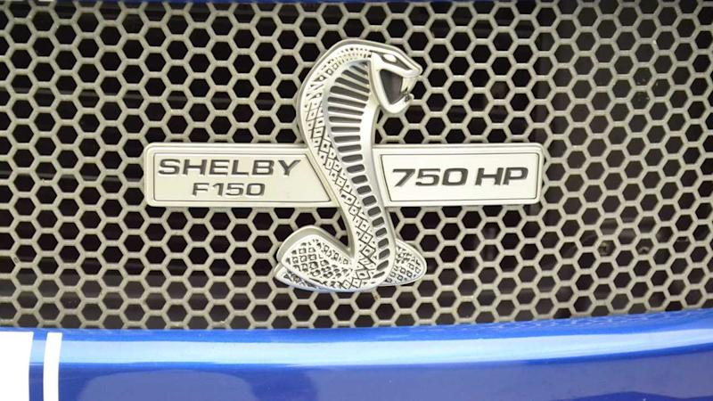 2017 Ford F-150 Shelby Super Snake Is A Powerhouse