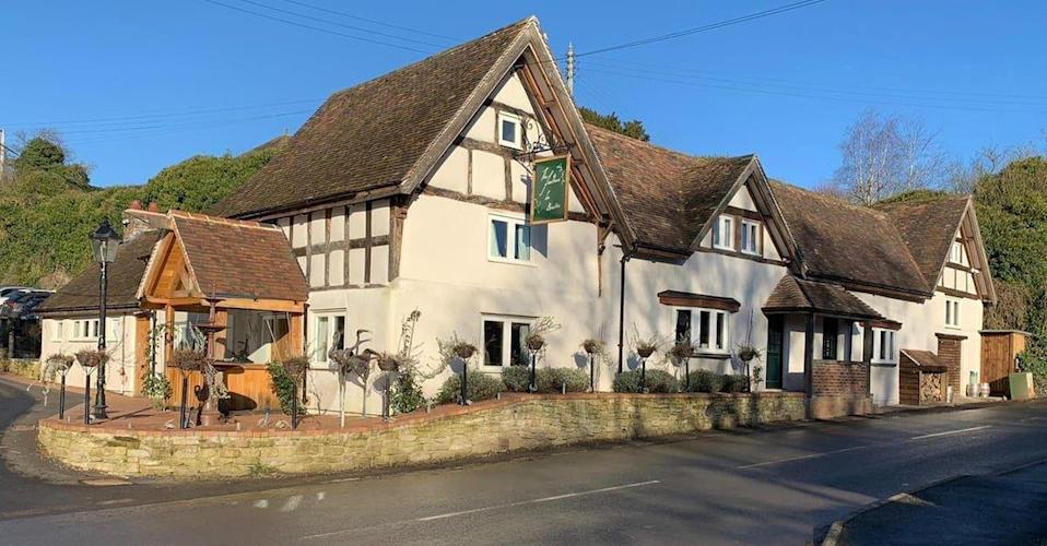 """<p>With a traditional facade, this local village pub is as lovely as can be. Inside, you'll discover a beautiful conservatory area, charming <a href=""""https://www.housebeautiful.com/uk/decorate/bedroom/a36392959/styling-plants-bedroom/"""" rel=""""nofollow noopener"""" target=""""_blank"""" data-ylk=""""slk:bedrooms"""" class=""""link rapid-noclick-resp"""">bedrooms</a>, wooden beams, complimentary breakfast, and a great selection of whiskeys, ales and wines. </p><p><a class=""""link rapid-noclick-resp"""" href=""""https://airbnb.pvxt.net/qnWXBO"""" rel=""""nofollow noopener"""" target=""""_blank"""" data-ylk=""""slk:BOOK NOW"""">BOOK NOW</a></p>"""