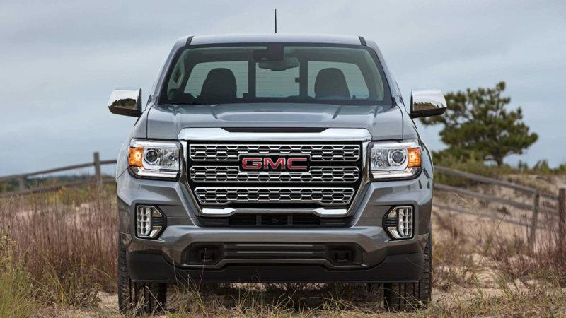 2021 Gmc Canyon Denali Shows Its New Grille