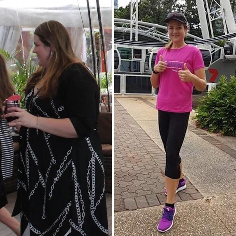 clare Carley weight loss transformation before and after photos