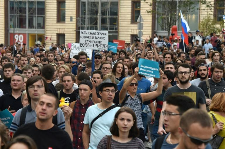 Authorities have in recent months turned up the heat on Navalny, after Vladimir Putin's approval ratings took a beating over an unpopular pension reform