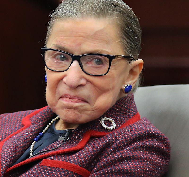 Ruth Bader Ginsburg Just Shared an Update About Her Health