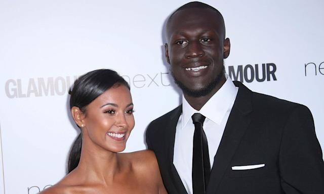 Stormzy and his presenter girlfriend Maya Jama ended things this year, with the rapper referencing the split on his latest album, '<em>Heavy is the Head</em>'. The famous couple had been dating since 2015, with reports suggesting they split due to the demands of their careers. (Joel Ryan/Invision/AP)