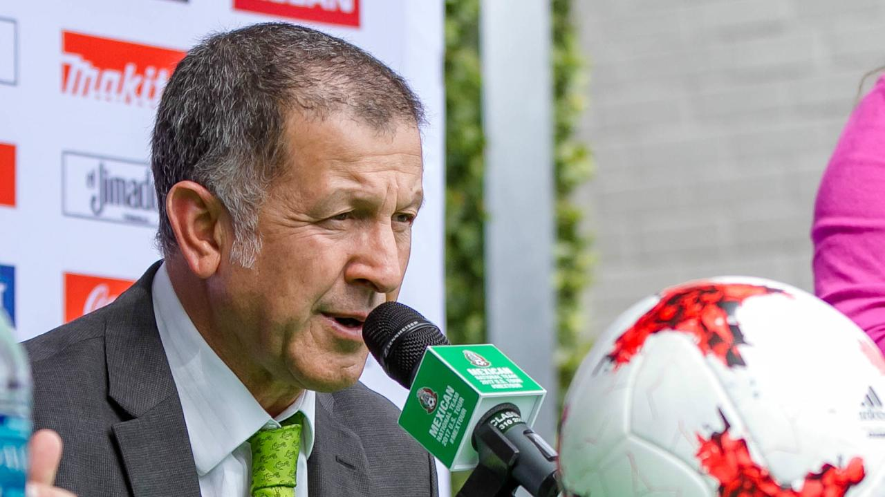 The El Tri manager says his team is stronger than it was last summer after its Copa America Centenario loss but says the team isn't out for revenge.