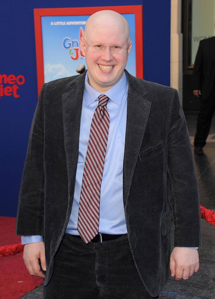 """<a href=""""http://movies.yahoo.com/movie/contributor/1809168049"""">Matt Lucas</a> attends the Los Angeles premiere of <a href=""""http://movies.yahoo.com/movie/1810080528/info"""">Gnomeo & Juliet</a> on January 23, 2011."""