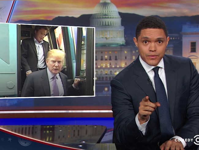 The Daily Show Trump Locker Room Talk