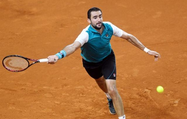 Marin Cilic warmed up for the claycourt season with two wins in a Davis Cup quarter-final against Kazakhstan last weekend (AFP Photo/-)