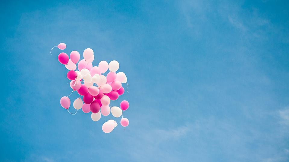 Meeting up after lockdown to release balloons or scatter ashes can help with the grieving process