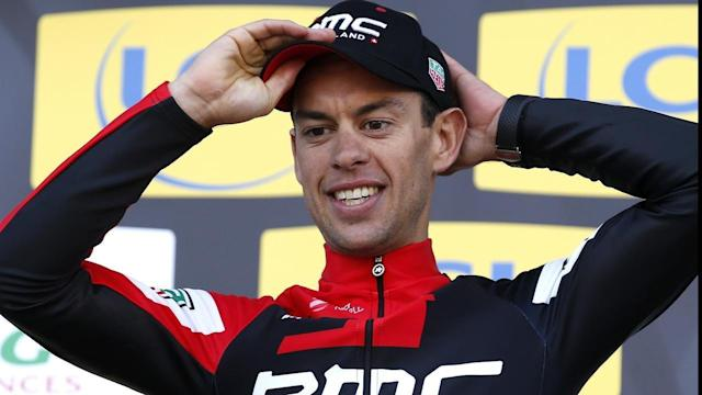 <p>Richie Porte says he's happy to back racing after his horror crash in the Tour De France.</p>