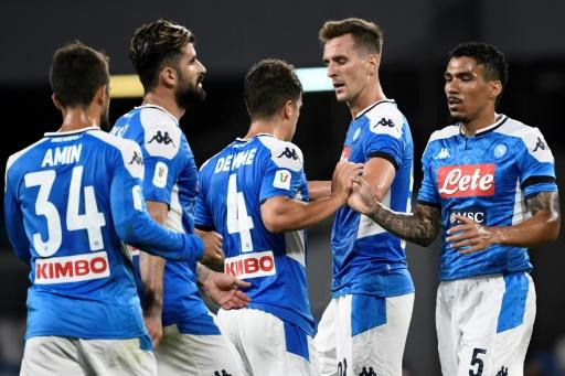 Napoli are in their first Italian Cup final since 2014