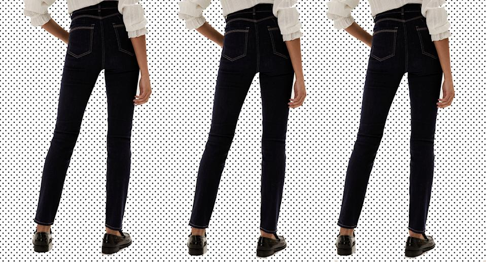 We predict M&S' Lily Magic Jeans will sell out fast.  (M&S/Yahoo! UK)