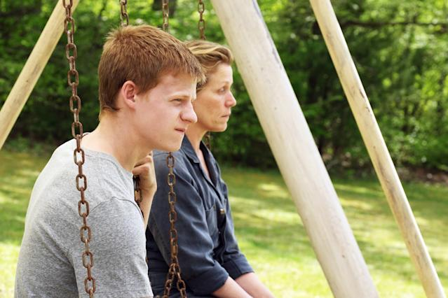 "Lucas Hedges and Frances McDormand in ""Three Billboards Outside Ebbing, Missouri."" (Photo: Merrick Morton /Fox Searchlight Pictures/ Everett Collection)"