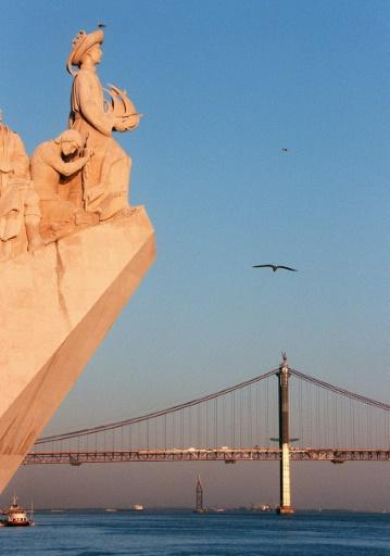 A Lisbon monument celebrates the famous Portuguese explorers of the 15th and 16th centuries