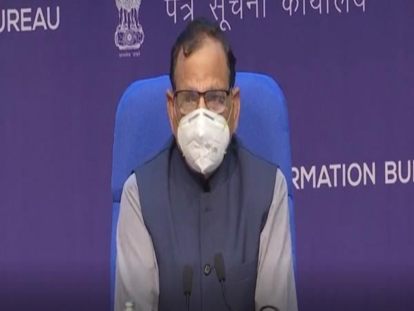 Dr VK Paul, Member-Health, NITI Aayog addressing a press conference on Friday (Photo/ANI)