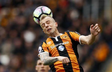 Britain Soccer Football - Hull City v Watford - Premier League - The Kingston Communications Stadium - 22/4/17 Hull City's Kamil Grosicki in action Action Images via Reuters / Jason Cairnduff Livepic