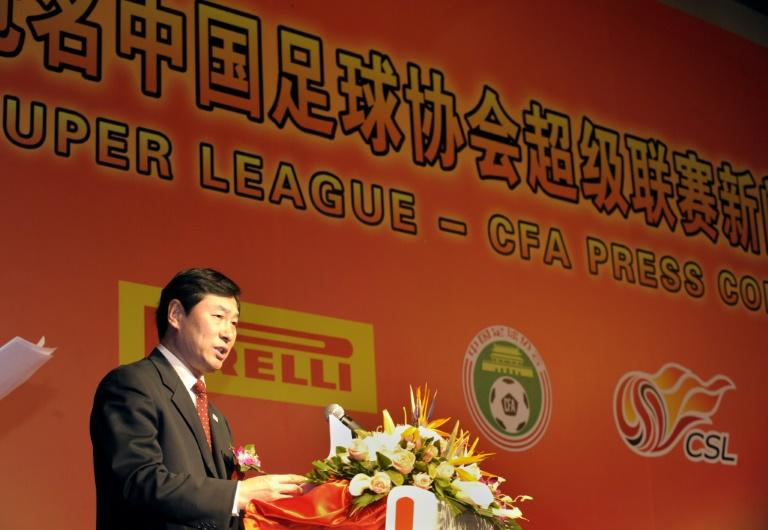 Former Chinese Football Association head Nan admitted accepting gold, diamonds and watches