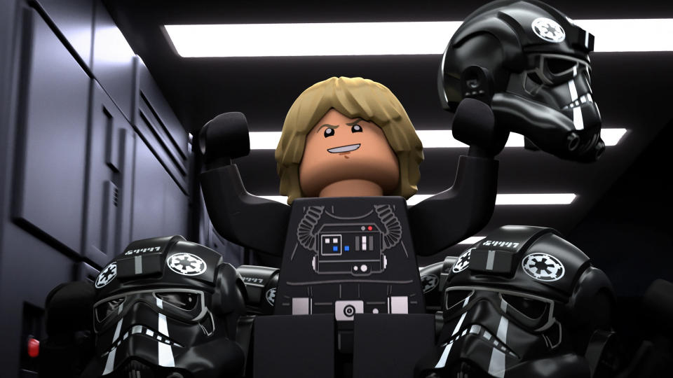 'Star Wars' goes down the anthology horror route with 'LEGO Star Wars: Terrifying Tales'. (Disney)
