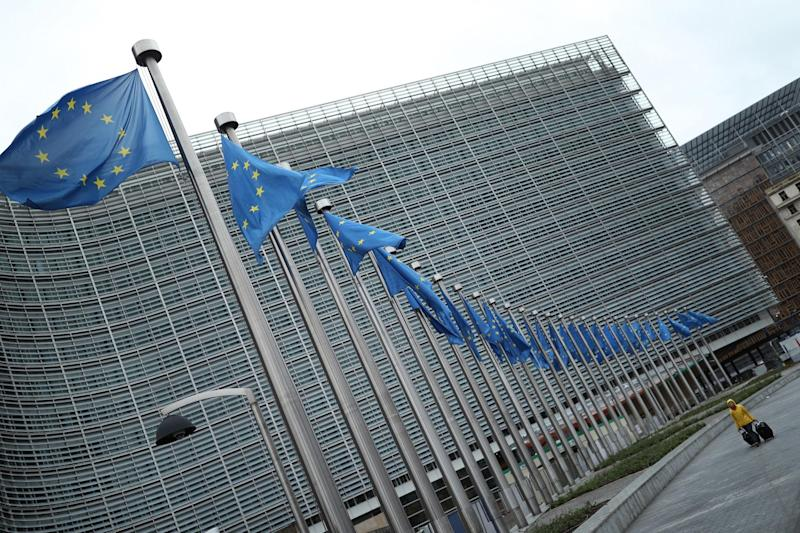 The European Commission building in Brussels, Belgium: PA