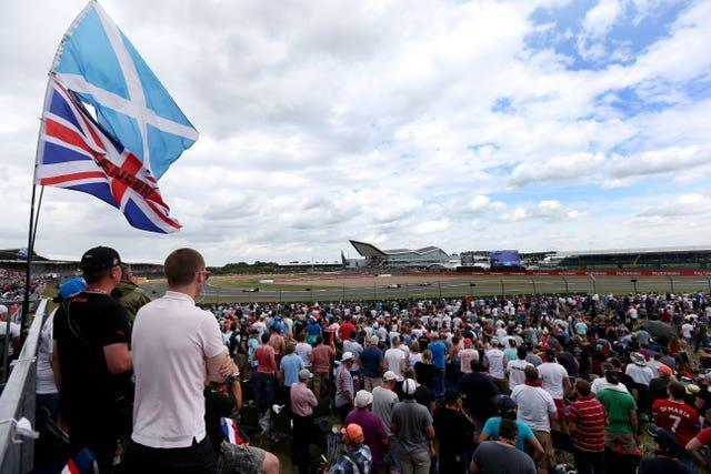 Crowds take in the 2015 British Grand Prix at Silverstone