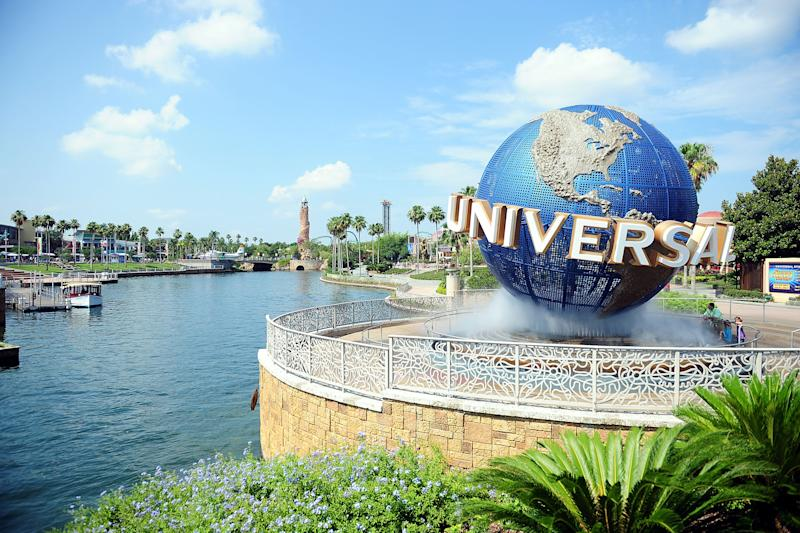 A photo of people giving Nazi salutes on a Universal Studios Orlando roller coaster is spreading online. (Photo: Getty Images)