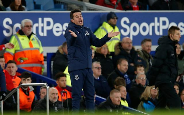 Sam Allardyce had suggested Marco Silva would need to change his style to survive at Everton - Action Plus