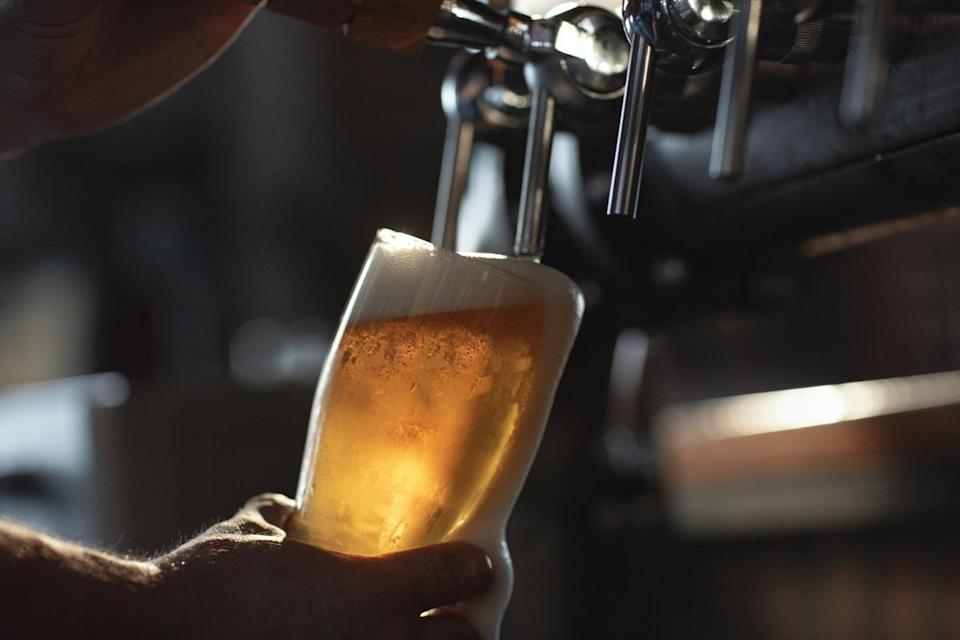 """<span>This rhyme that every 21-year-old tries to memorize</span><span> does have some truth to it, but it's not quite scientific. It just all boils down to the fact that hard liquor's alcohol content is 10 times higher than that of beer. </span><span>""""If you start out drinking beer at a certain rate, and then continue drinking a mixed drink at the same rate, it's like driving slowly and then stepping on the gas,"""" <strong>Rueben Gonzales</strong>, PhD, a professor of pharmacology and toxicology at the University of Texas, told <a href=""""https://gizmodo.com/booze-legends-debunking-the-myths-every-drinker-believ-5889786"""" rel=""""nofollow noopener"""" target=""""_blank"""" data-ylk=""""slk:Gizmodo"""" class=""""link rapid-noclick-resp"""">Gizmodo</a>. """"Your mouth may not know the difference in the alcohol concentration, but your body will.""""</span> <span>Of course, the opposite holds true, too. If you start off your night drinking hard liquor, you're likely consuming your beverage slower, but feeling drunk more quickly. """"Switching to beer and then drinking at the same rate will result in a decreased stream of alcohol by volume,"""" Dr. Gonzales said.</span>"""