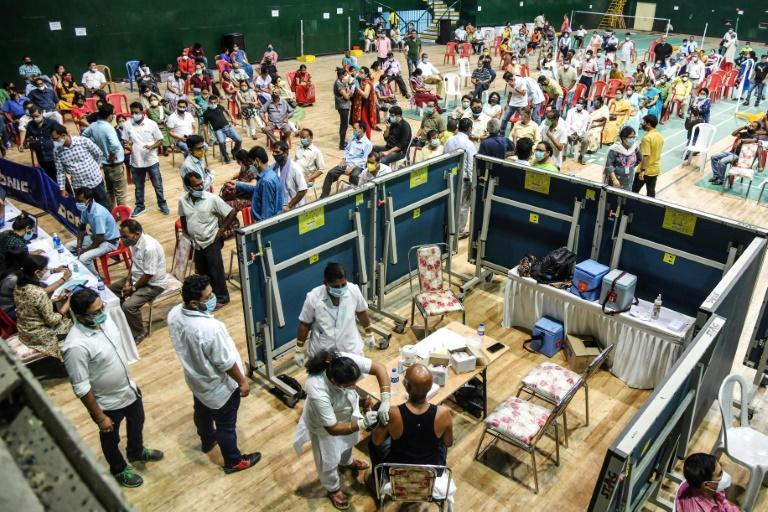 Only online registrations are allowed for 18-44-year-olds in search of a coronavirus jab, locking out up to half of India's population